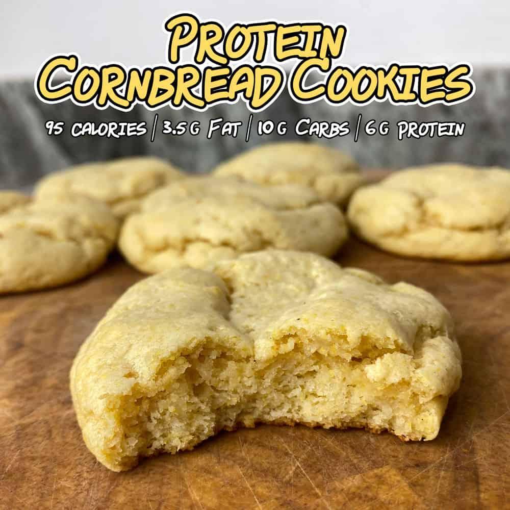 High-Protein-Cornbread-Cookies