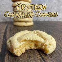 Protein Cornbread Cookies