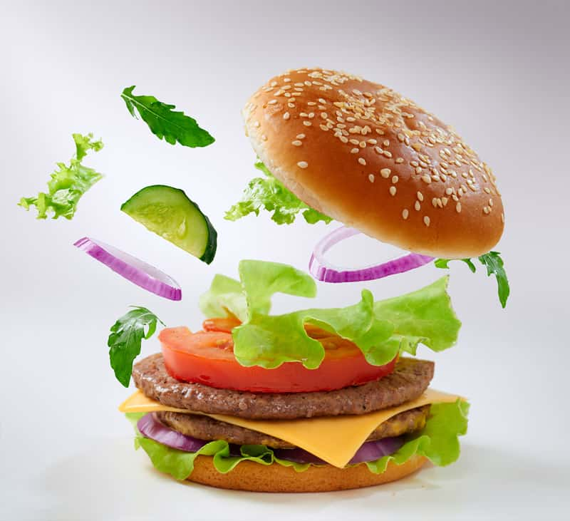 Wendys healthy burger