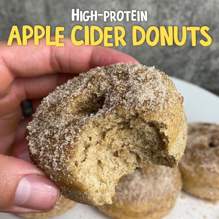 Protein Apple Cider Donuts