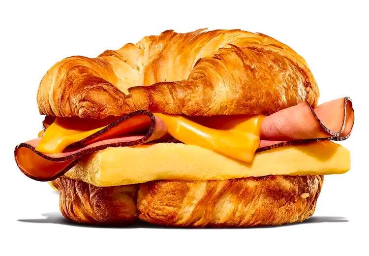 Ham Egg & Cheese Croissan'wich
