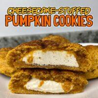 Pumpkin Cheesecake Protein Cookies