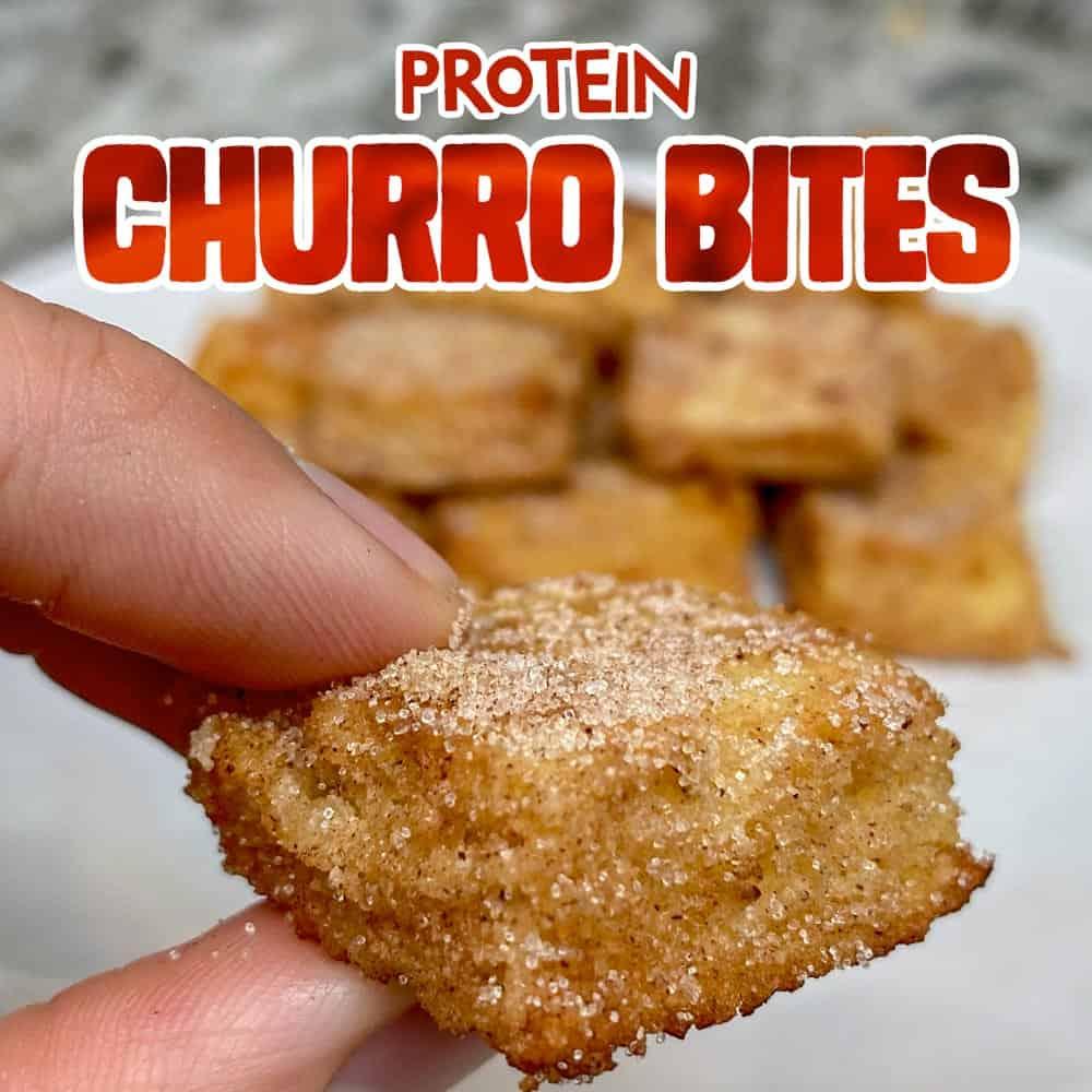 Protein Churro Bites