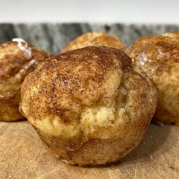 Protein Snickerdoodle Puffs