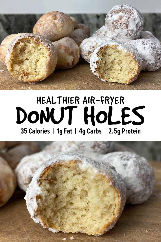 Air Fryer Donut Holes Pinterest