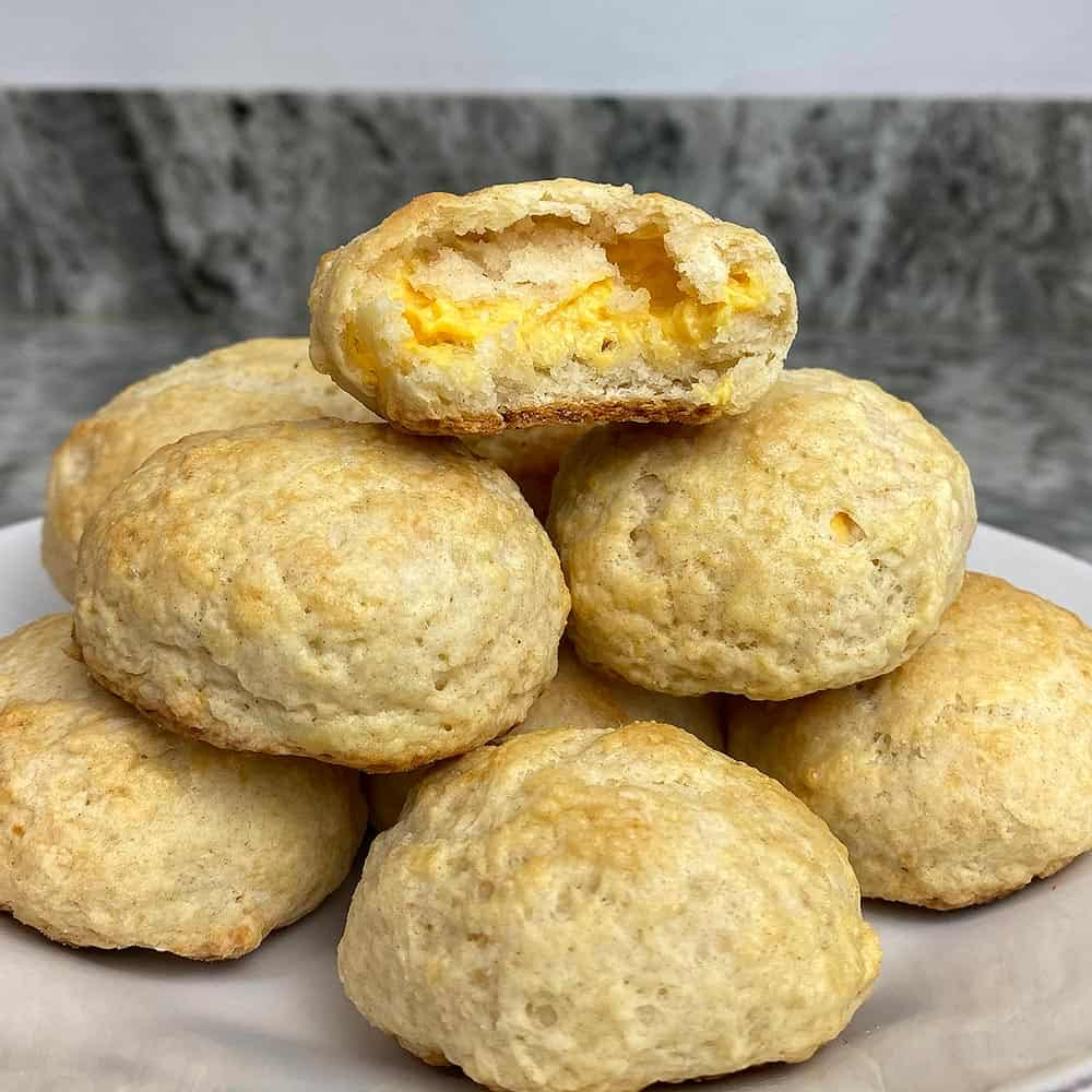 Grilled Cheese Biscuit Bites Recipe