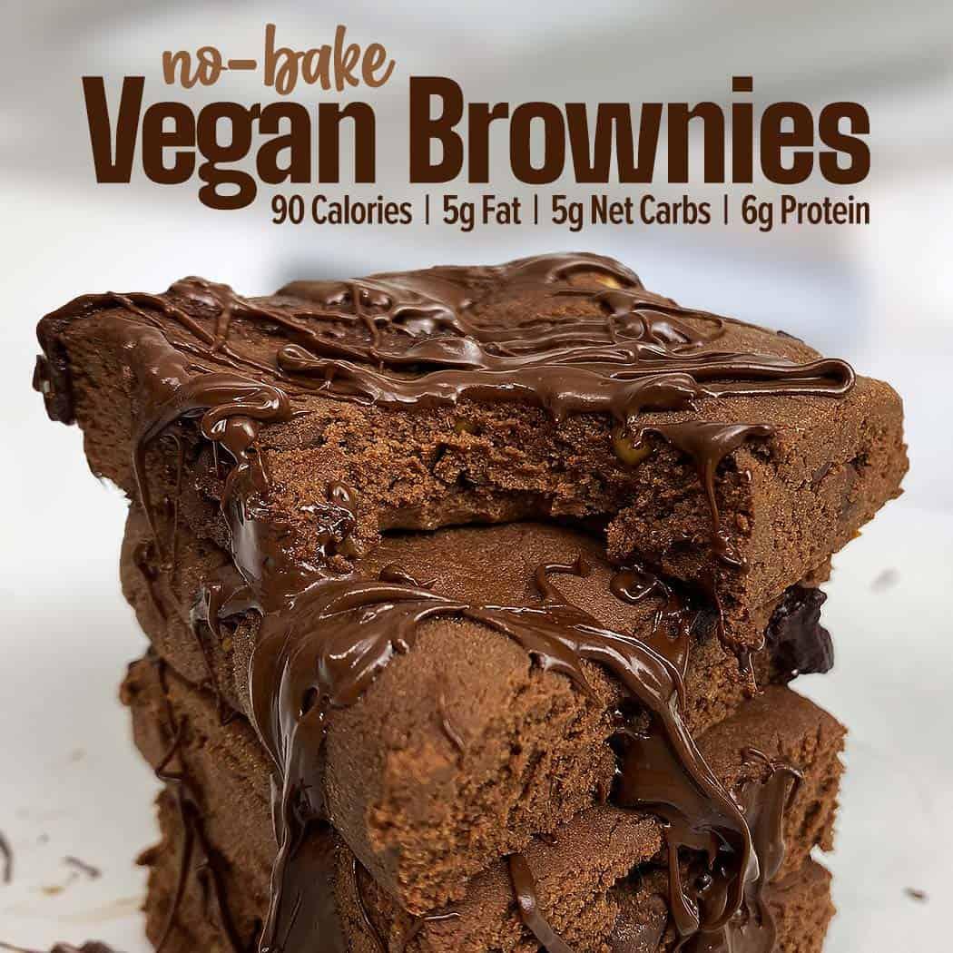 No Bake Vegan Brownies Recipe