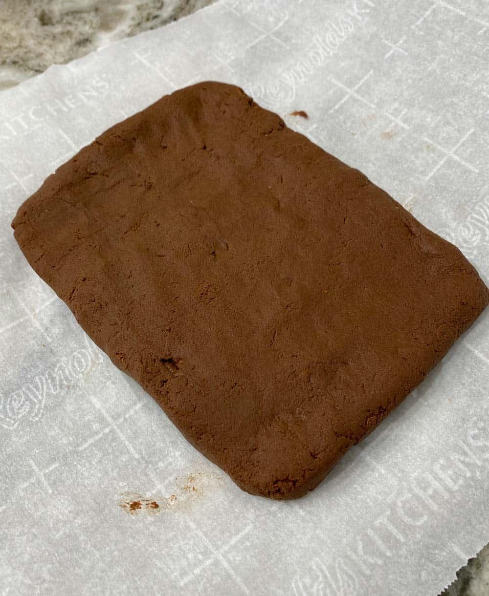 Vegan brownie dough