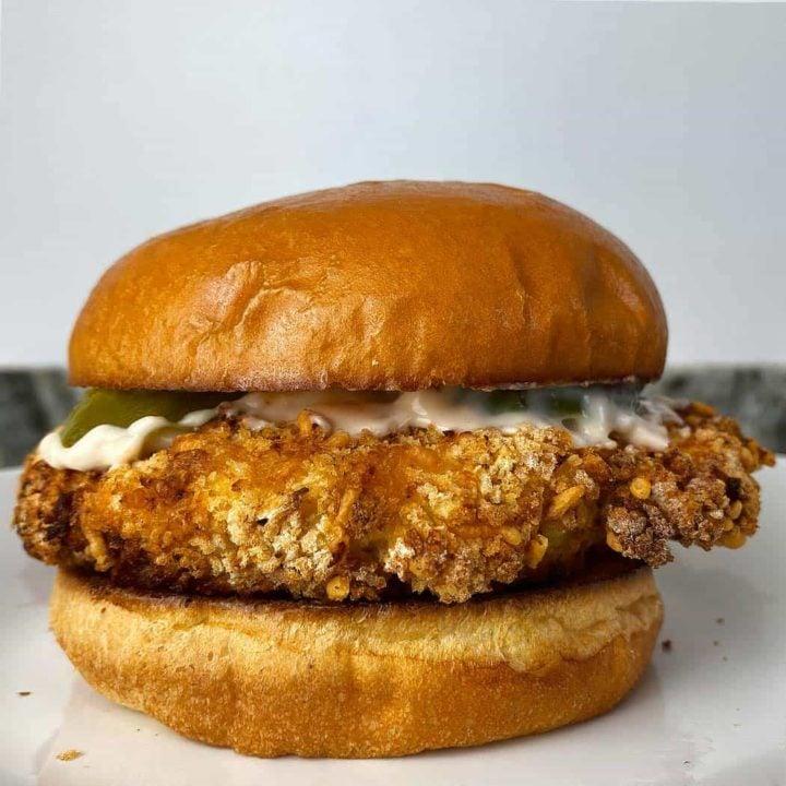 Air Fryer Crispy Chicken Sandwich