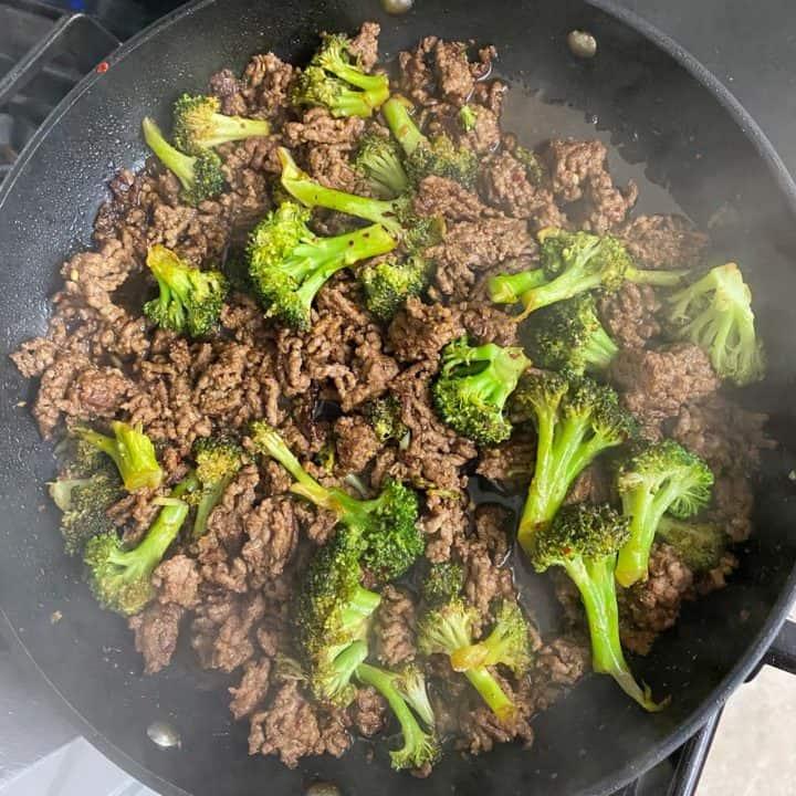 Hot Honey Ground Beef