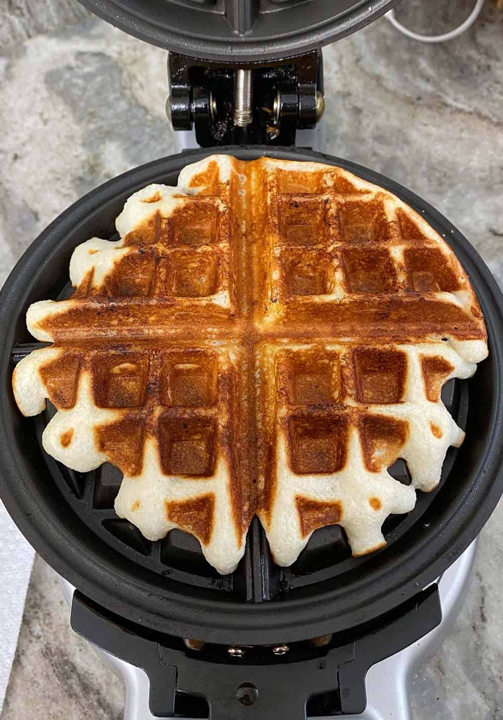 Cake Mix Protein Waffles