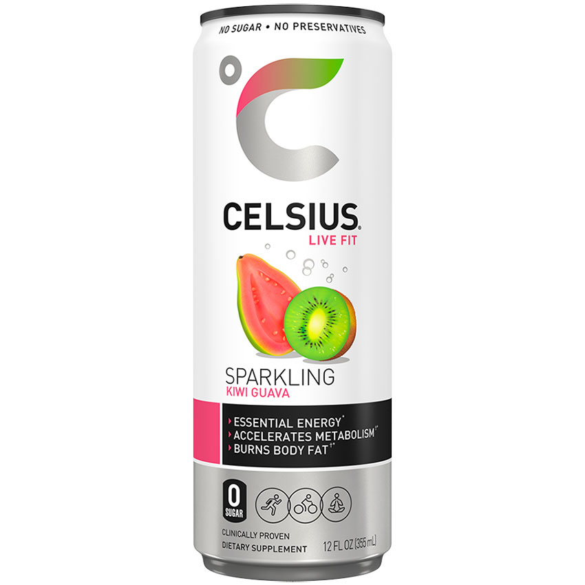 Caffeine in Celsius energy