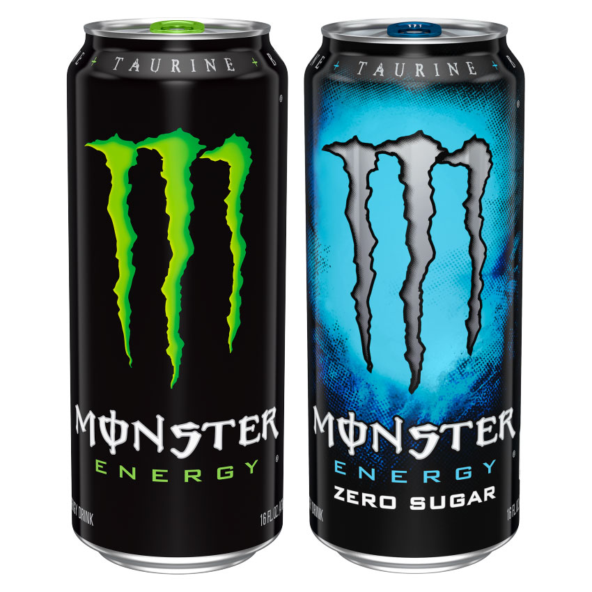 Caffeine in Monster