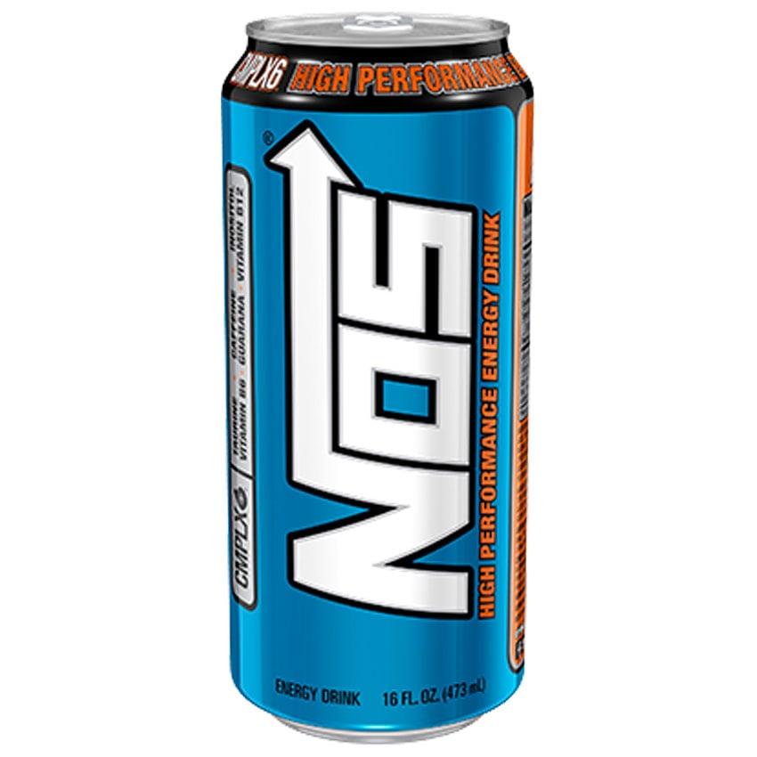 NOS Energy caffeine