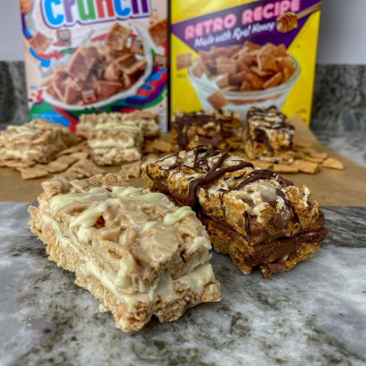 Homemade protein cereal bars