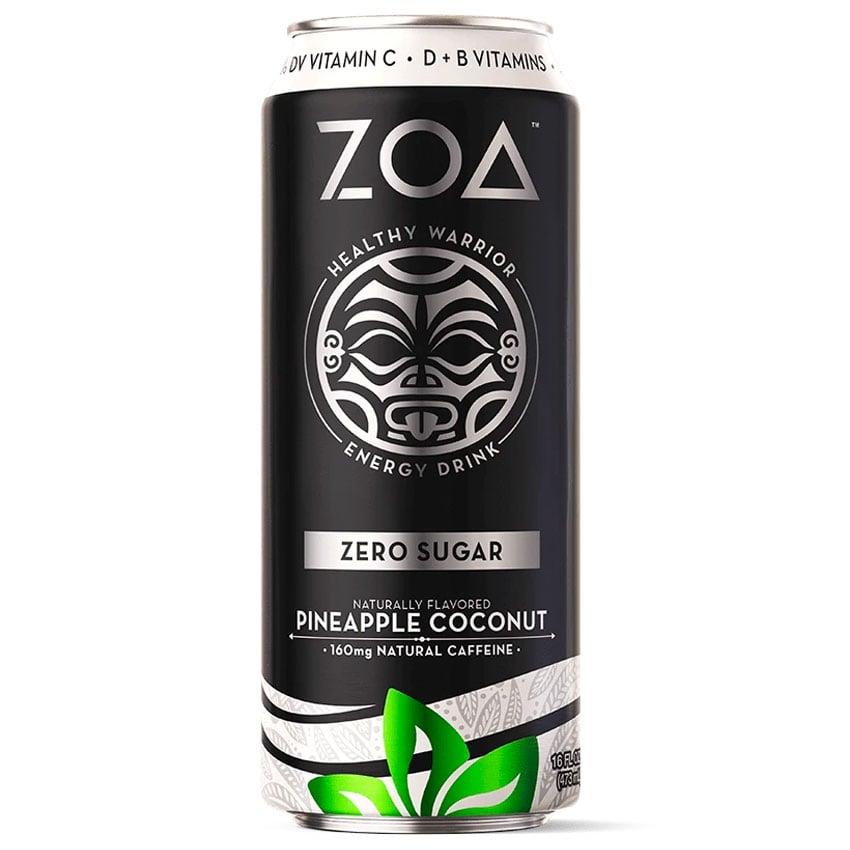Caffeine in ZOA