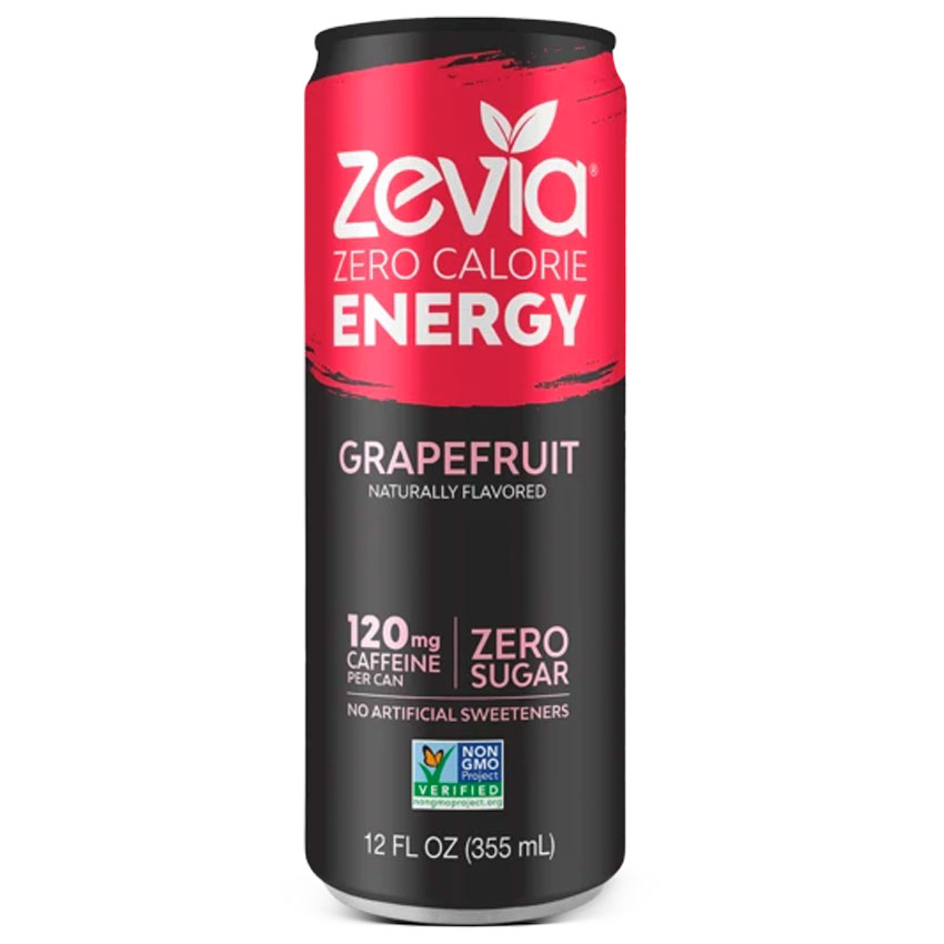 Caffeine in Zevia energy drink