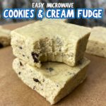 Easy Cookies & Cream Fudge