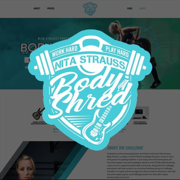 Nita Strauss Body Shred Challenge