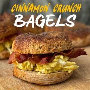 Cinnamon Crunch Bagels Recipe