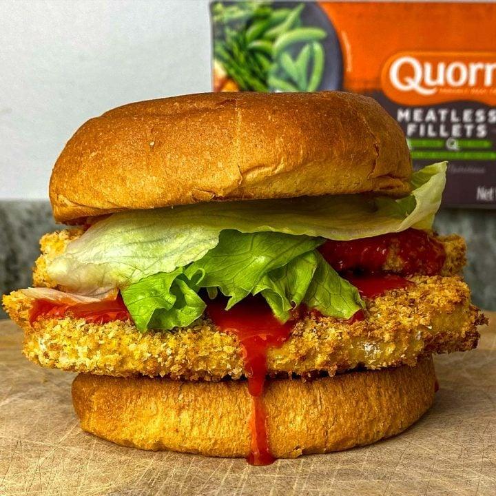 Meatless Crispy Chicken Sandwich