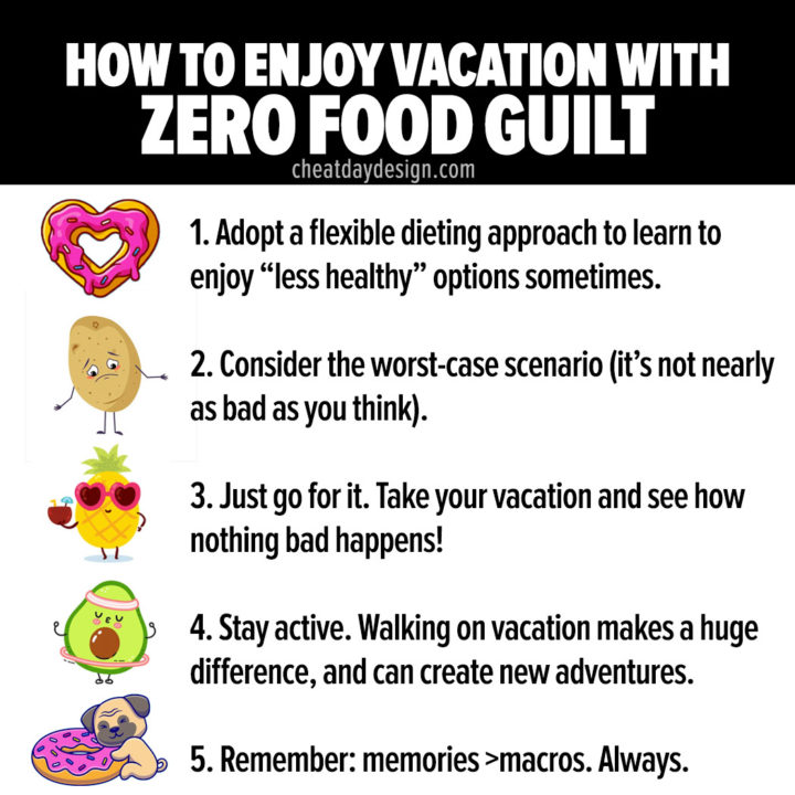 5 Tips for Enjoying Vacation With Zero Food Guilt in 2021