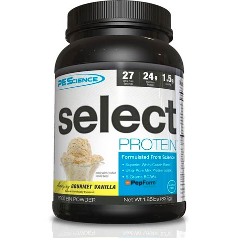 "PEScience Whey/Casein Blend Vanilla Protein (Code ""Matt"" will save you 15%)"