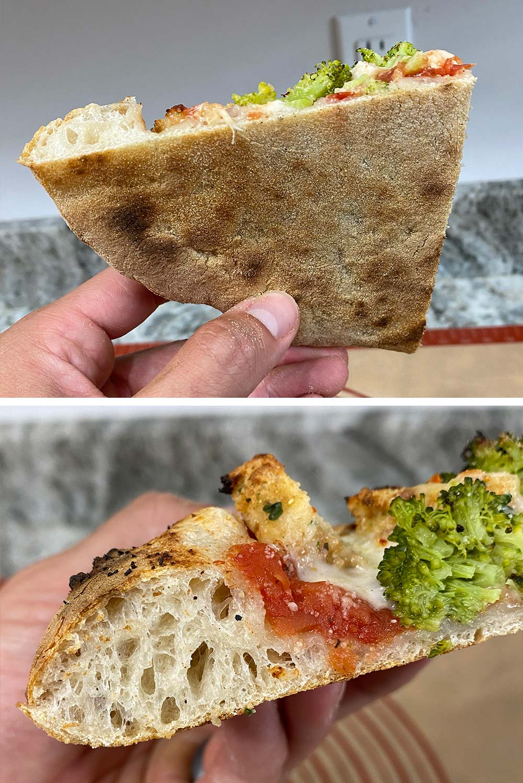 Sourdough Pizza Crust Bottom