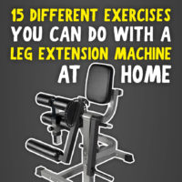 15 Different Exercises You can do with a leg extension machine
