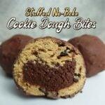 Stuffed No Bake Cookie Dough Bites