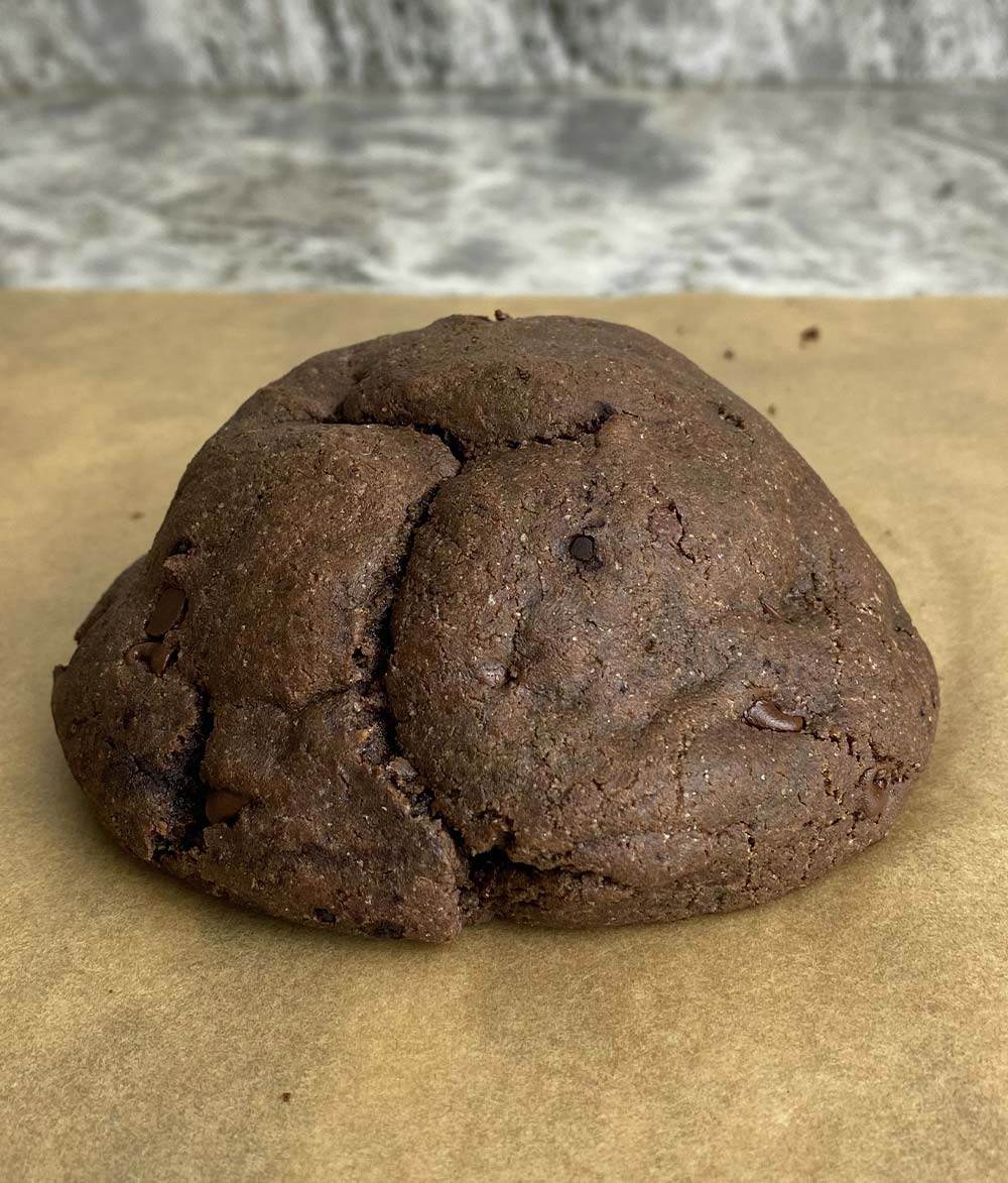 Protein cookie after setting