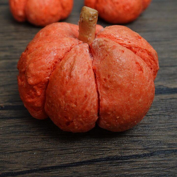 Pumpkin Shaped Bagel Recipe
